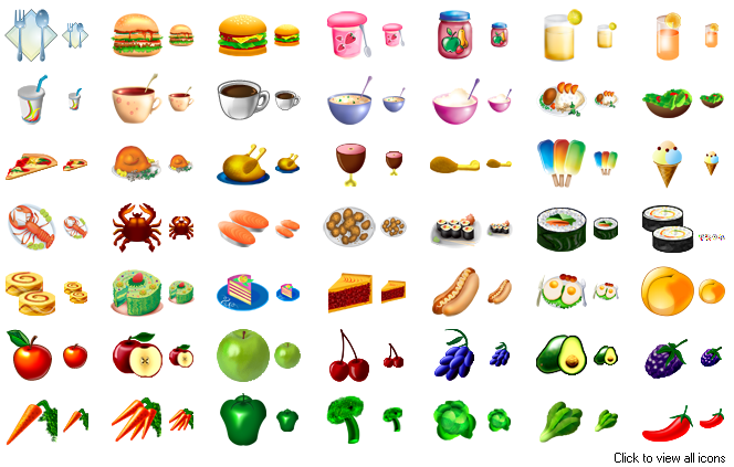 Food Icons by Aha-Soft